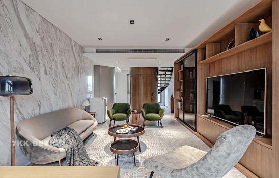 复式楼将建筑设计与室内设计完美演绎