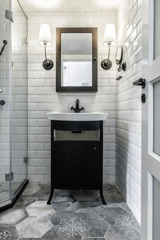 打造北欧风格的卫生间,从了解这8款瓷砖开始
