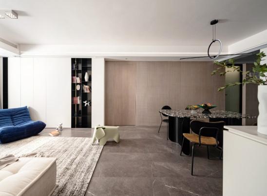 无背景墙设计,打造极简生活方式