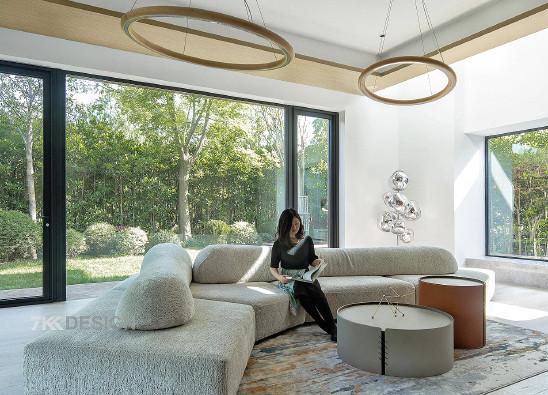 独栋别墅庭院下挖,奢阔空间,完美演绎理想生活
